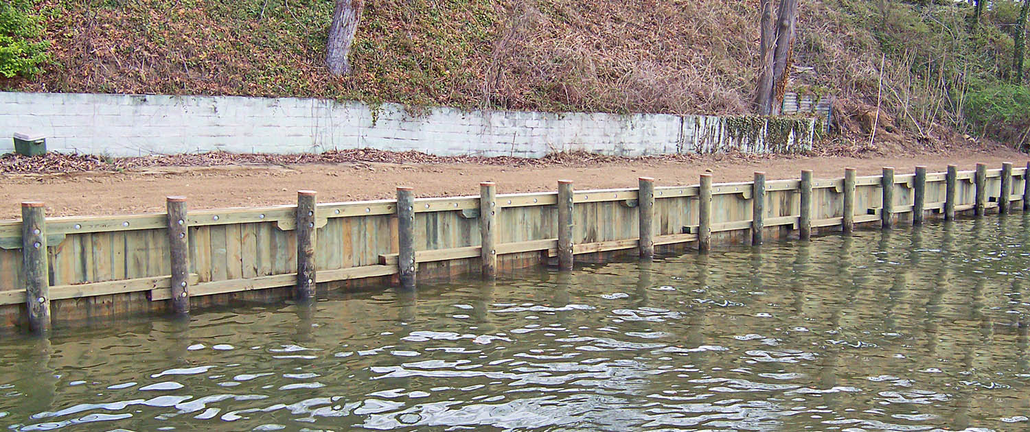 Shoreline Protection B Amp W Marine Construction