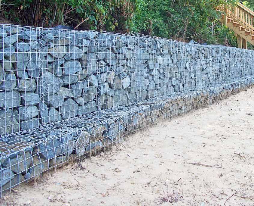 Shoreline Protection B Amp W Marine Construction